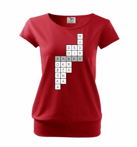 Krížovka pre babku | dámske tričko