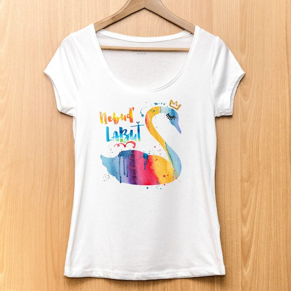 Nebuď labuť | dámske tričko