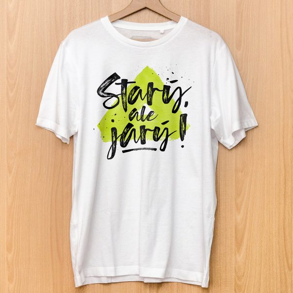 Starý, ale jarý! | pánske tričko