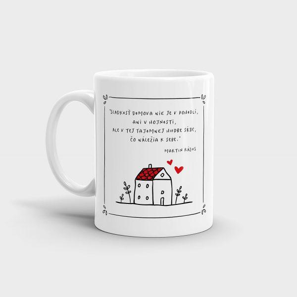 Citát o domove | hrnček