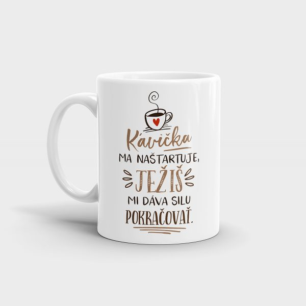 Ježiš a káva | hrnček