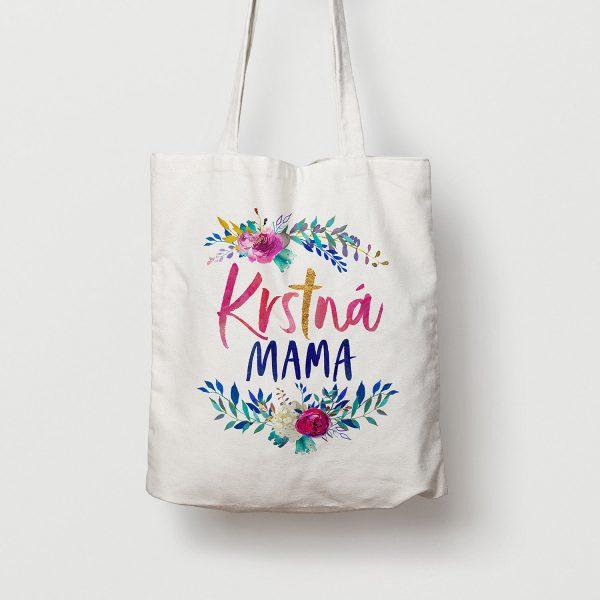 Krstná mama | plátená taška