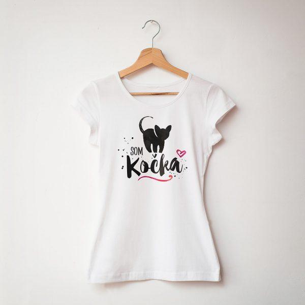 Som kočka  | dámske tričko