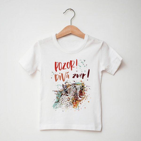 Pozor, divá zver! | detské tričko