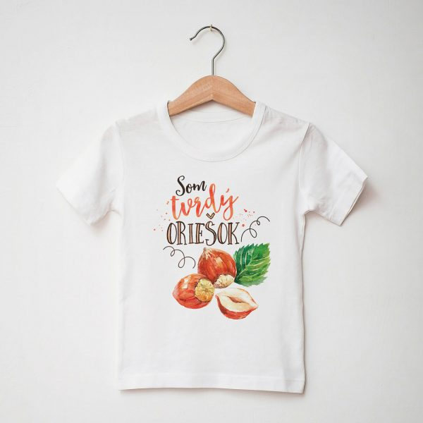 Som tvrdý oriešok | chlapčenské tričko
