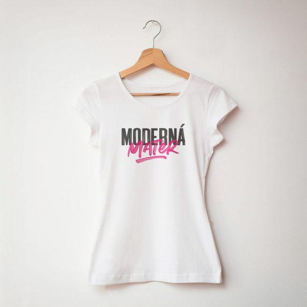 Moderná mater | dámske tričko