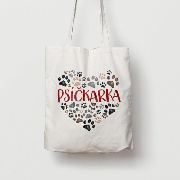 Psíčkarka | plátenná taška